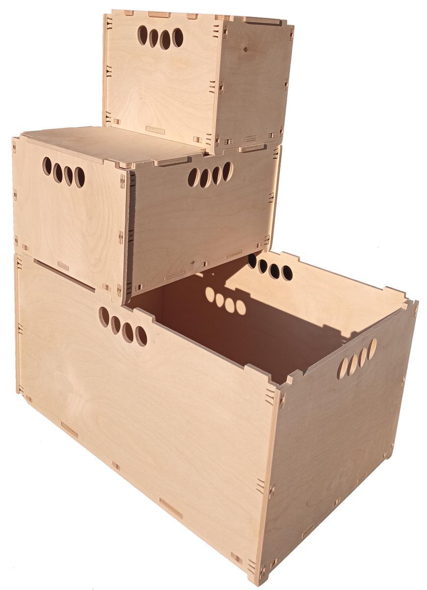 Holzkisten & Holzboxen & Aufbewahrungsboxen
